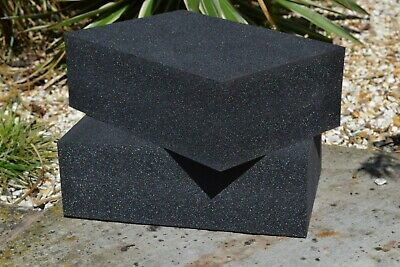 pack of 2  closed cell high density foam kayak block 285mm x 185mm x 70mm
