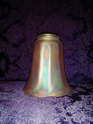 """1 5.35"""" Imperial Glass Company Signed Nuart Lamp Shade  #2"""