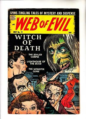 Web of Evil 14 pre hero horror