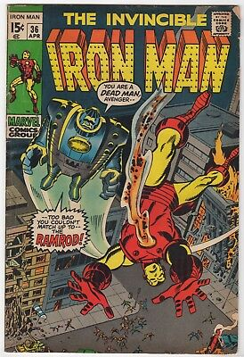 Invincible Iron Man  #36     FN-