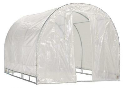 Greenhouse-Weatherguard Walk In Arched Top Garden Hot House Fully Enclosed -...