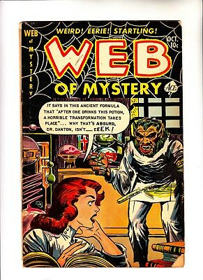 Web of Mystery 14 pre hero horror