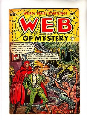 Web of Mystery 13 pre hero horror