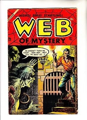Web of Mystery 25 pre hero horror