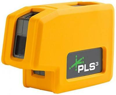 New PLS3 3-Point Green Beam Laser Level PLS-60595N by Pacific Systems