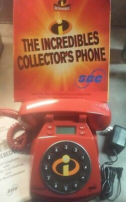 The Incredibles Collector's Phone with SBC Logo