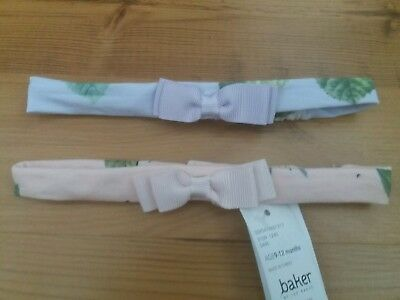 Ted Baker Baby Girl Headbands 9-12 Months