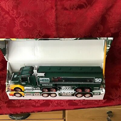 Hess 1964-2014 50th Anniversary Special Edition Truck Toy Model Gasoline Tanker