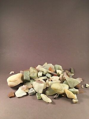 Lot of Low Quality Jade Stone Semi Precious over 30 pieces