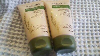 Aveeno active natural daily moisturizing hand cream.clinically proven. 2 x 75ml