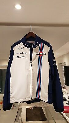 Williams Martini Racing F1 Soft Shell Jacket - XL