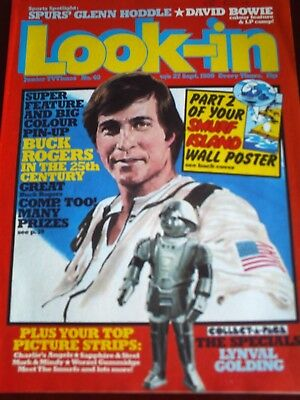 LOOK IN 27th SEPT 1980. FRONT COVER GIL GERARD as BUCK ROGERS,