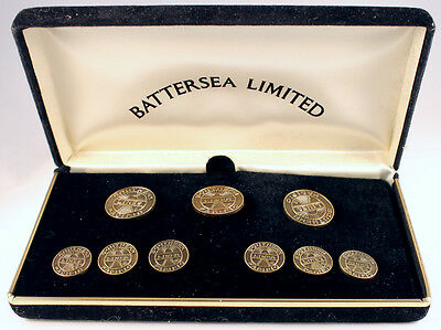Southern Pacific Solid Brass Blazer Buttons set #1 R