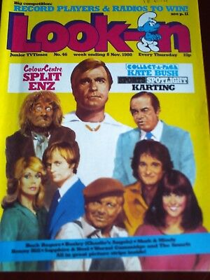 LOOK IN 8th NOV 1980. FRONT COVER PICTURE STRIP FEATURES,.
