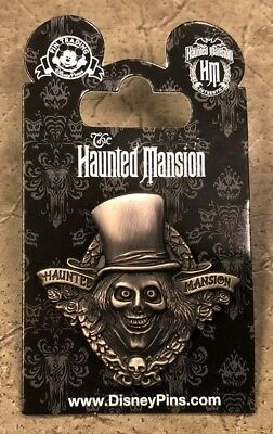 New! Authentic Disney 2017 Haunted Mansion HM Hatbox Ghost Pin *Free Shipping*