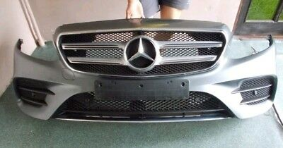 MERCEDES E CLASS W213 AMG line 2016 2017 2018 FRONT BUMPER COMPLETE with 6  x PDC