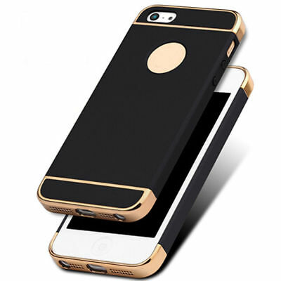 For iPhone 5 5s SE Case Ultra Thin Chrome Acrylic Hybrid Back Shockproof Cover