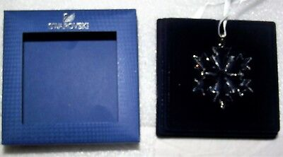 Swarovski Crystal LITTLE SNOWFLAKE Christmas Ornament 5349843 New NIB+Booklet
