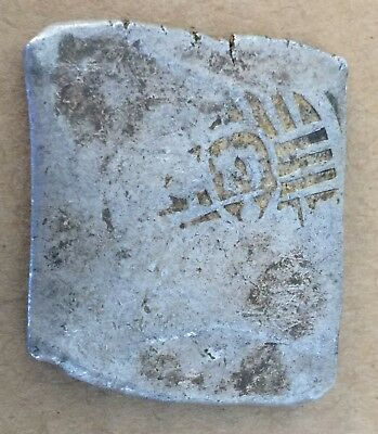1600s Spanish Spain 8 Reales Real Cob Silver Coin Colonial Treasure Coin 26.70 g