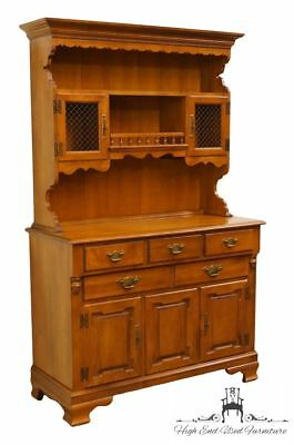"TELL CITY Young Republic Solid Hard Rock Maple 44"" Buffet w/ Hutch - Andover ..."
