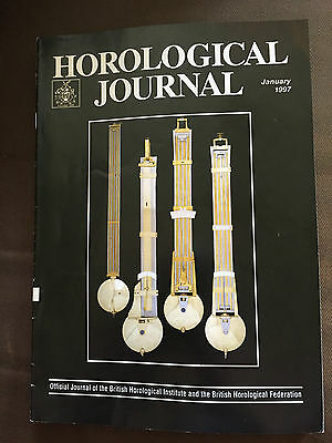 Jan 1997 Horological Journal Magazine - The Art Of Cartier's Wristwatches