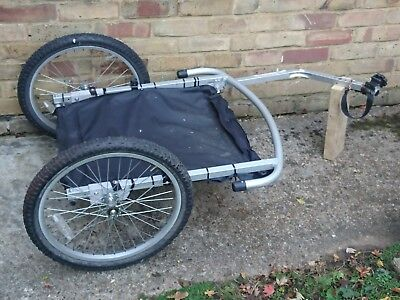 RALEIGH KIDS DOUBLE or Single Seat Bike Trailer - £38 00