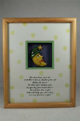 Childs Prayer on Shadow Box Picture-The Sun Is Now Setting...#EJ16132 NEW!