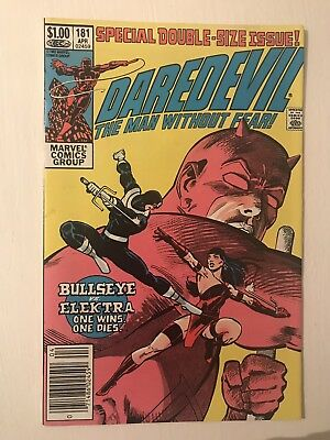 Daredevil 181 Newsstand * Free Tracked Delivery *
