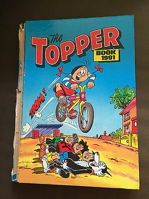 1991 The Topper Book Annual Unclipped Hardback Book