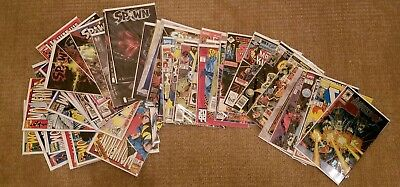 Lot of 50 Comic Books Star Wars Cable X-Men Wolverine Spawn Avg VF Condition!!!
