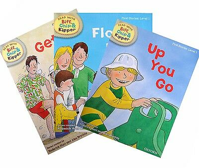 Biff, Chip and Kipper - Level 1 - First Stories Collection (3 books)