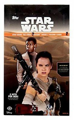 Star Wars: The Force Awakens Series 2 Hobby Box (Topps 2016) STAR WARS CARDS!