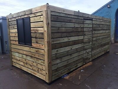 50/50 Office / Workshop Shipping Container