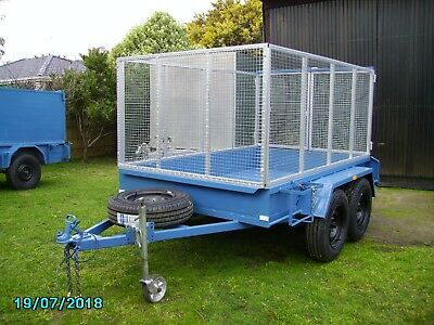 Tandem cage trailer registered to 12/5/2019 Removable cage New tyres Etc - Etc