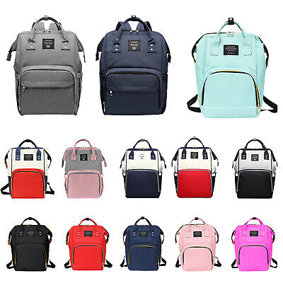 Women Mummy Maternity Nappy Diaper Large Capacity Baby Bag Travel Backpack