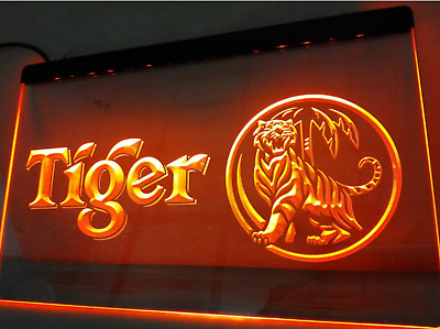 Tiger Beer Happy Hour Bar,  LED Neon Light Sign 400W X 300H