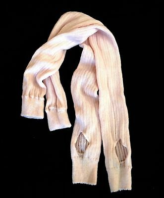 Dance solid light pink sweater knit extra long leg warmers girls youth Large L