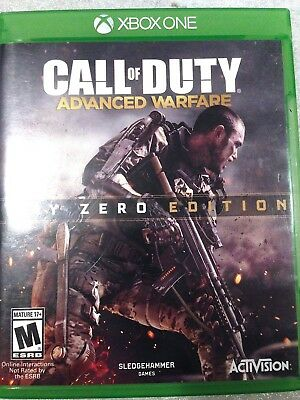 Call of Duty Advance Warfare Day Zero Edition XBOX ONE #218