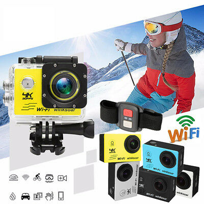 SJ9000 4K Ultra HD 1080P Wifi Waterproof Sports Action Camera Camcorder DV w/ RC