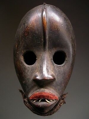 AUTHENTIC ~  DAN Male  GUNYEGE MASK from Cote d'Ivoire ~ A GEM !!!