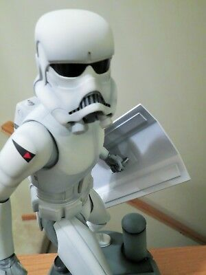 Sideshow SW McQuarrie Stormtrooper regular 1/5 Statue with original box, mailer!