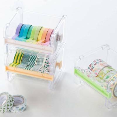 Dispenser Tape Cutter Desktop Tape Washi Tape Dispenser Roll Tape Holder Mount