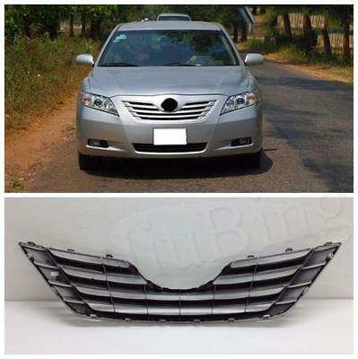 NEW ABS Chrome Front Hood Bumper Grille  Grill Fit For Toyota Camry  2007-2009