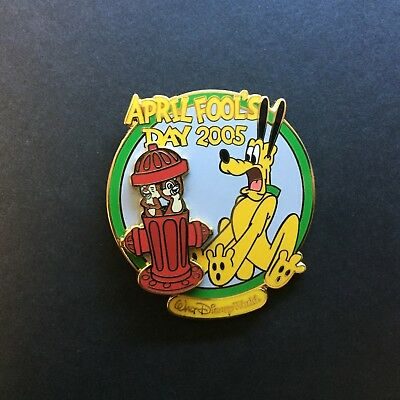 WDW - April Fool's Day 2005 Chip n Dale & Pluto LE 2500 Disney Pin 37660