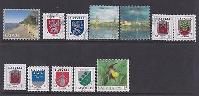 Latvia small collection Used