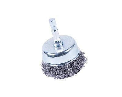 """Forney 72795 Cup Brush, Fine Crimped with 1/4"""" Shank, 2"""""""