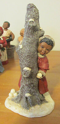 Martha Holcome Collectible African American Figurines Samantha