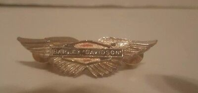 Vintage Collectible Harley Davidson Wings Pin for Vest, Hat or Jacket