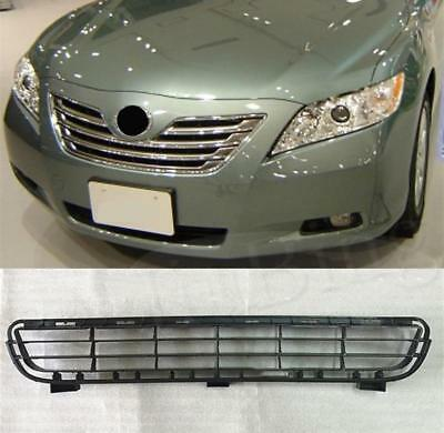 Black Plastic Front Bumper Lower Grille Grill For Toyota Camry  2007-2009 NEW