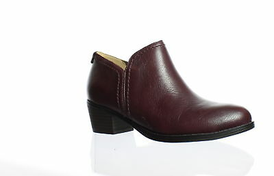 Naturalizer Womens Zarie Bordo Ankle Boots Size 5 (60213)